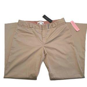 Banana Republic Wide Leg Khaki Pants Sz 12 P Logan